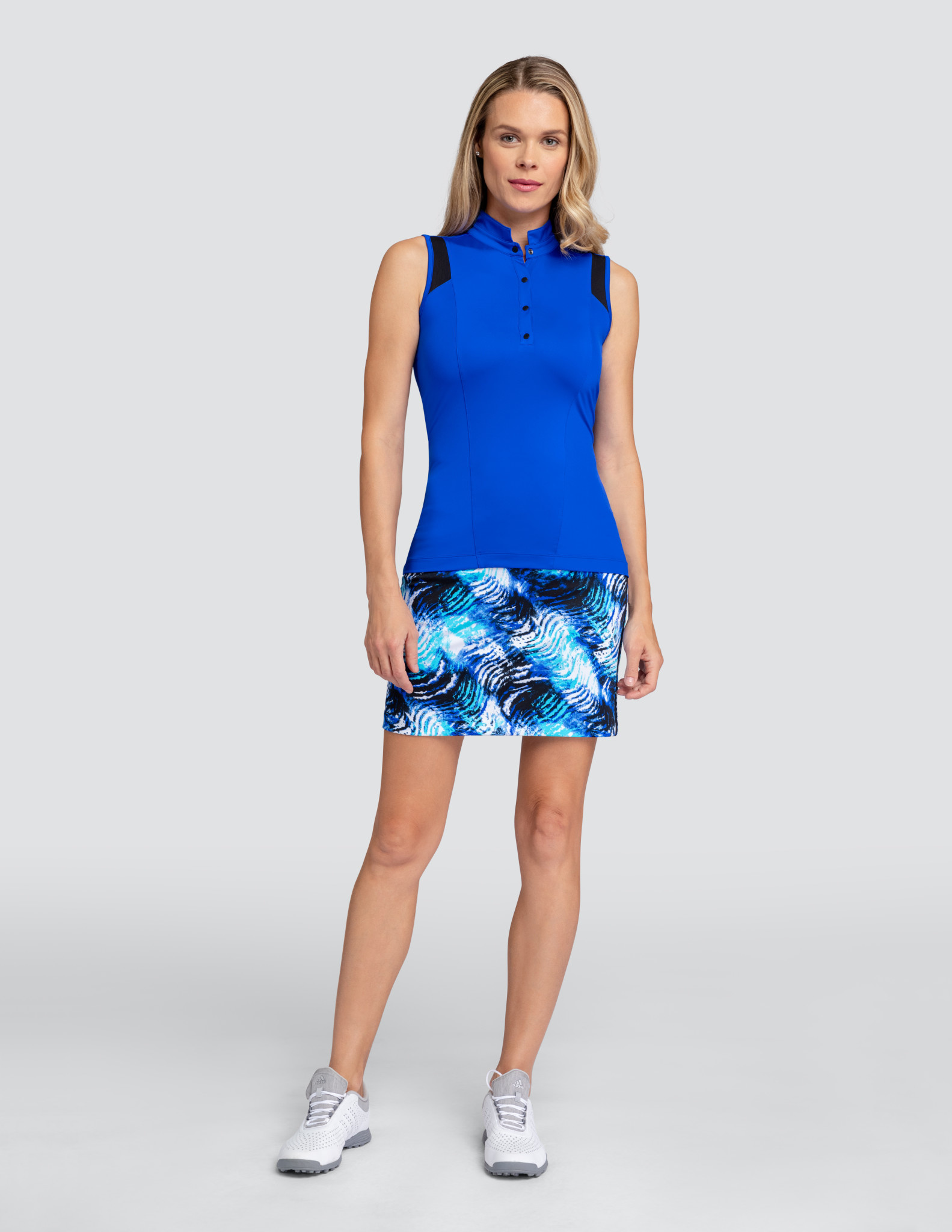Tail Tail Asia Sleeveless Top Admiral Blue
