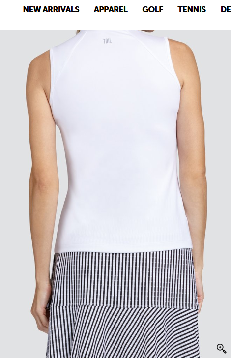 Tail Tail Vivienne Sleeveless Top Chalk
