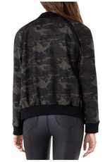 Liverpool Jeans Liverpool Bomber Jacket Olive Brown Camo