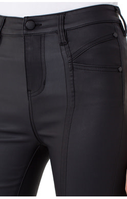 Liverpool Jeans Liverpool Abby Hi-Rise Cat Eye Pocket Black RInse