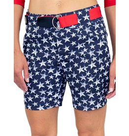 Jofit Jofit Belted Golf Short Midnight Star Print