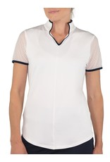 Jofit Jofit Mesh Sleeve Mock White/Midnight