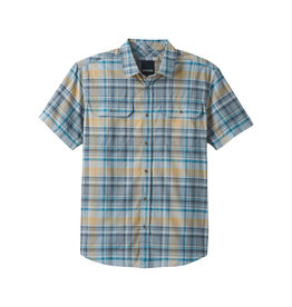 prAna Cayman Plaid SS Shirt Rain