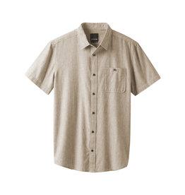 prAna Jaffra SS Shirt Dark Khaki