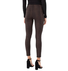 Liverpool Jeans Liverpool Reese Seamed Pull-On Legging Copper/Black