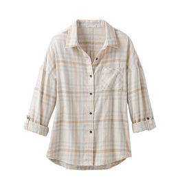 prAna Percy Top Moonlight Macro Plaid