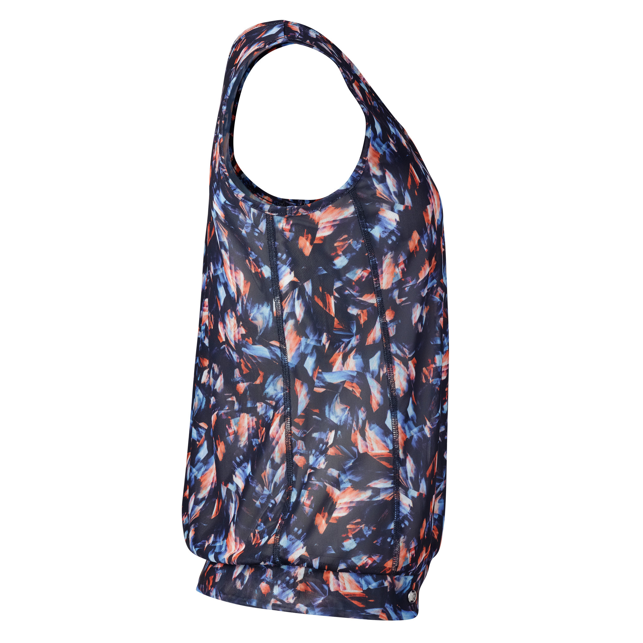 Daily Sports Active Daily Sports Mesh Loose Tank Navy