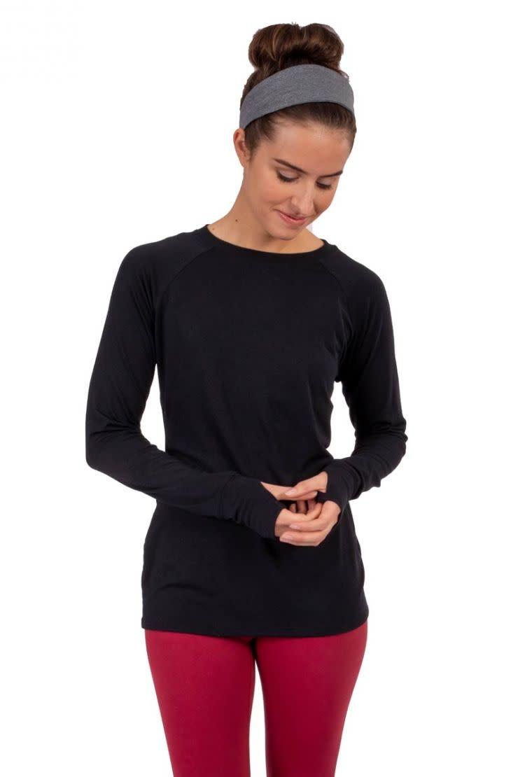 Soybu Soybu Energetic Long Sleeve Top Black