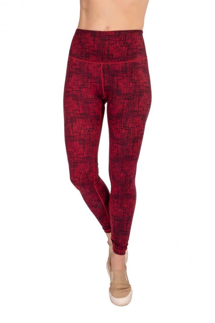 Soybu Soybu Paramount Legging Rumba Red Tweed