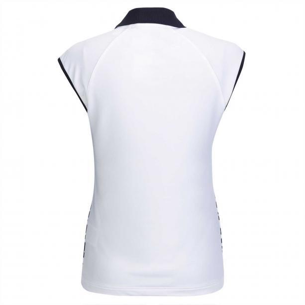 Golfino Golfino Blossom Printed Polo White