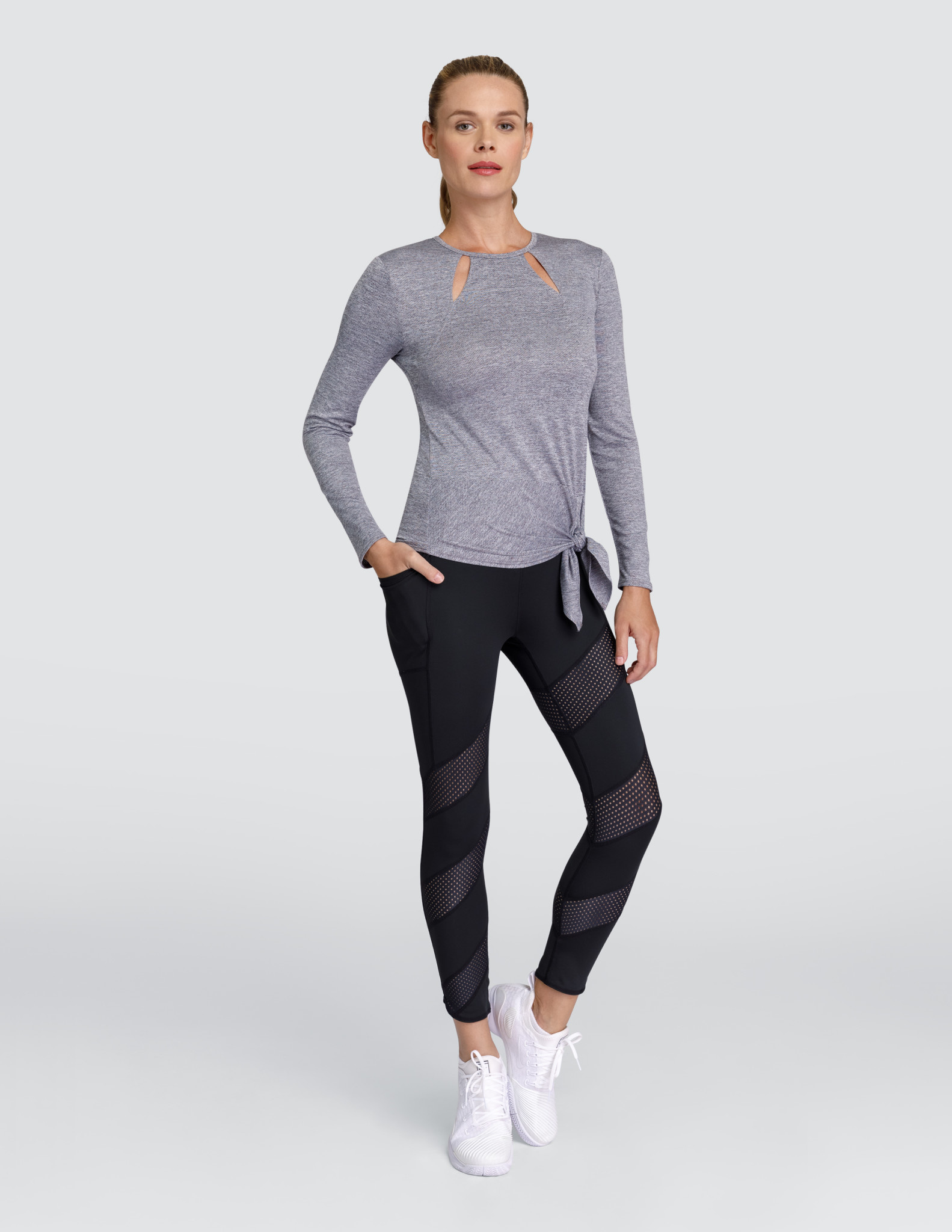 Tail Tennis Tail Julieta Top Frosted Heather