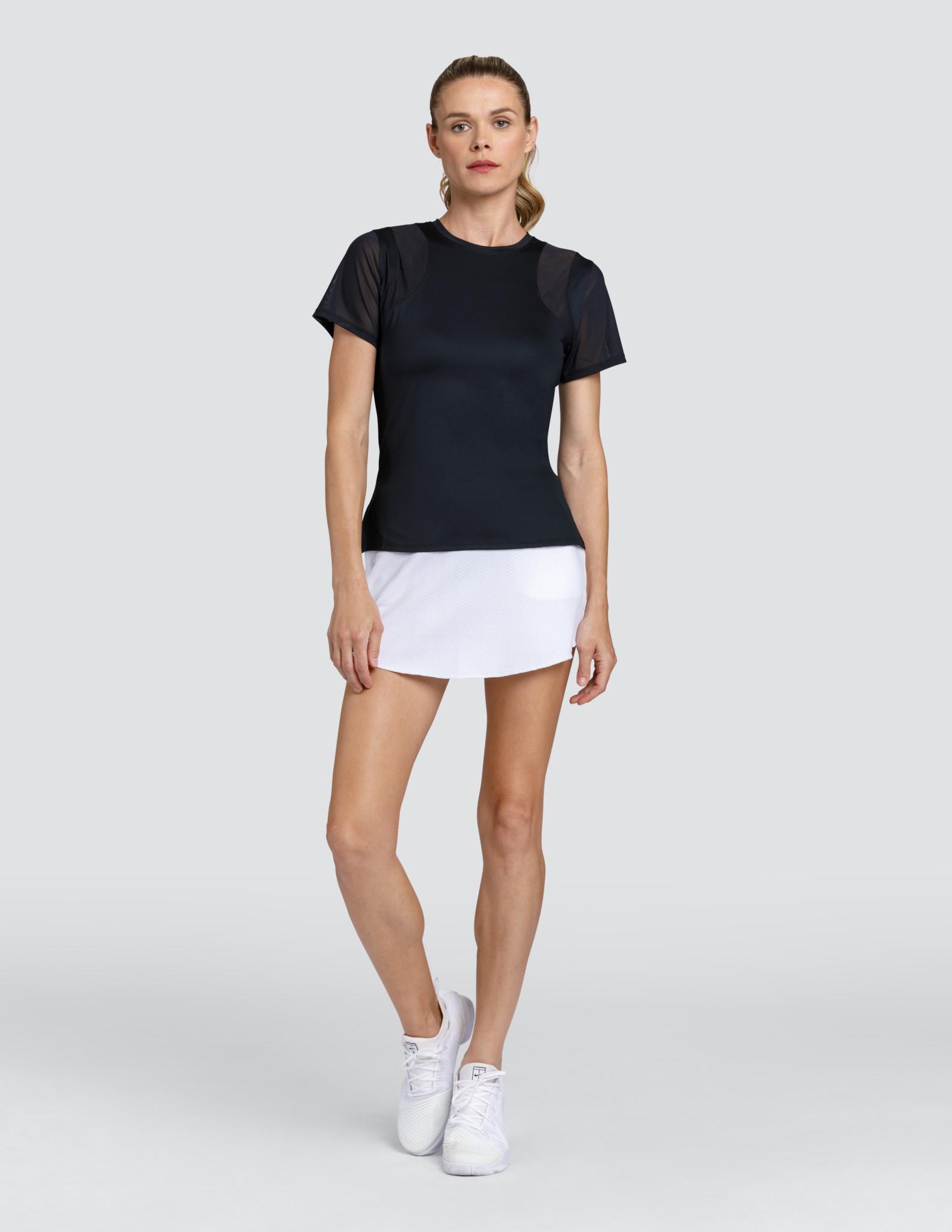 Tail Tennis Tail Nevaeh Short Sleeve Top Onyx