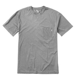 Vuori Vuori Tradewind Performance Tee Heather Grey
