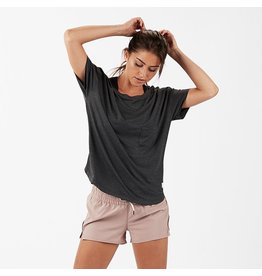 Vuori Vuori Lux Performance Tee Charcoal Heather