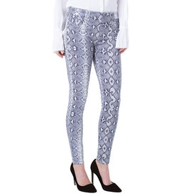 Liverpool Jeans Liverpool Gia Glider Pull On White Whisper Vulcan Grey