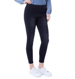 Liverpool Jeans Liverpool Chloe Moto Pull-On Jeans Naples