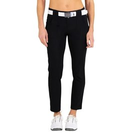 Jofit Belted Cropped Pant Black
