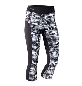 Daily Sports Active Daily Sports Active Zebrami Crop Black
