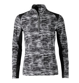 Daily Sports Daily Sports Zerena Long Sleeve Half Zip Pullover Black