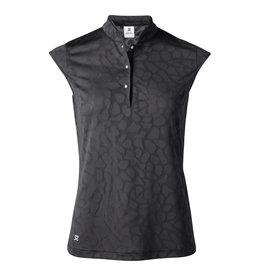 Daily Sports Daily Sports Uma Cap Sleeve Polo Black