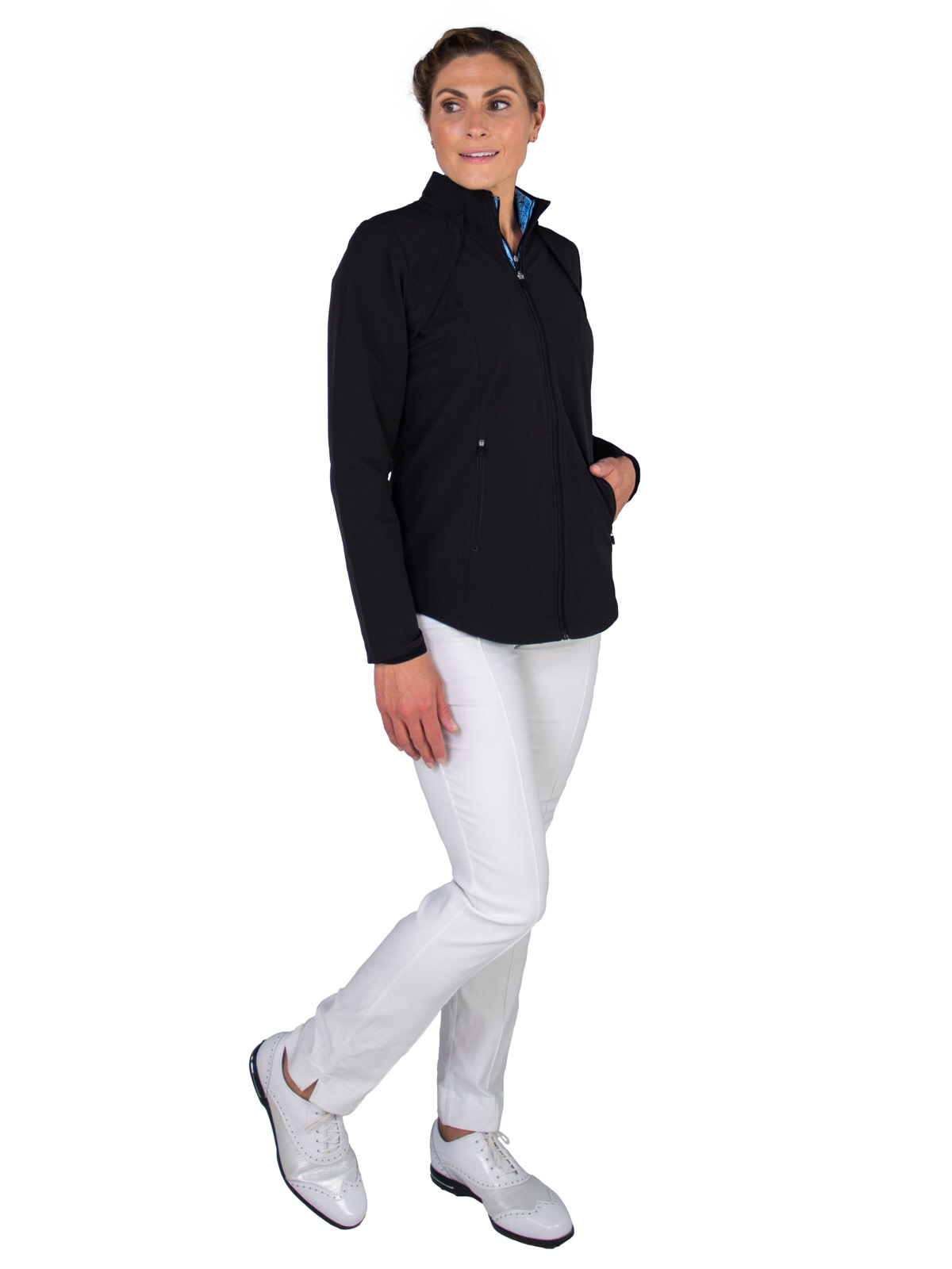 Jofit Wind Jacket w/ Removable Sleeves Black