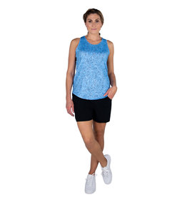 Jofit Pleat Back Tank Bailey Cheetah