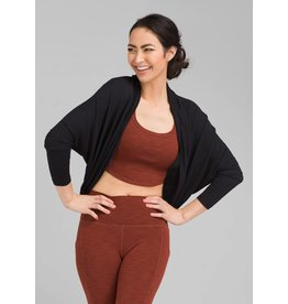 prAna prAna Foundation Shrug Black