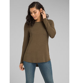 prAna prAna Foundation Tunic Slate Heather