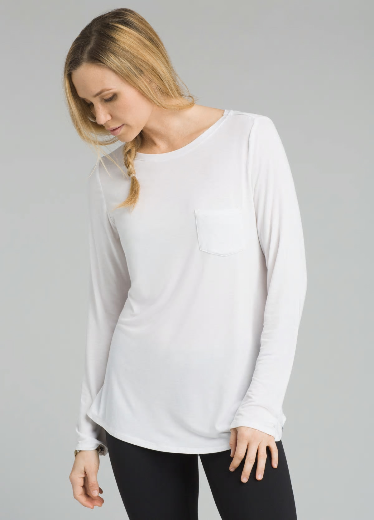 prAna prAna Foundation Tunic White