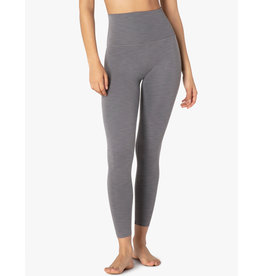 Beyond Yoga Beyond Yoga Heather Rib Midi Legging Grey