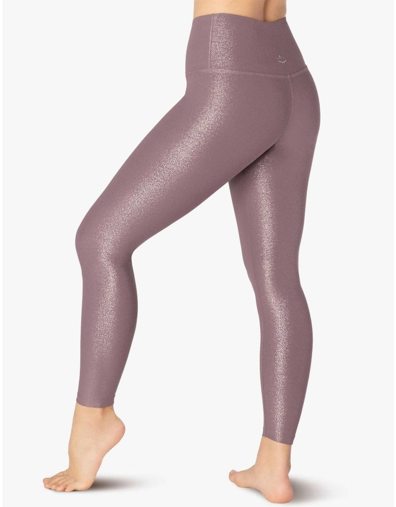 Beyond Yoga Beyond Yoga Twinkle Midi Legging Wild Orchid-Rose Gold