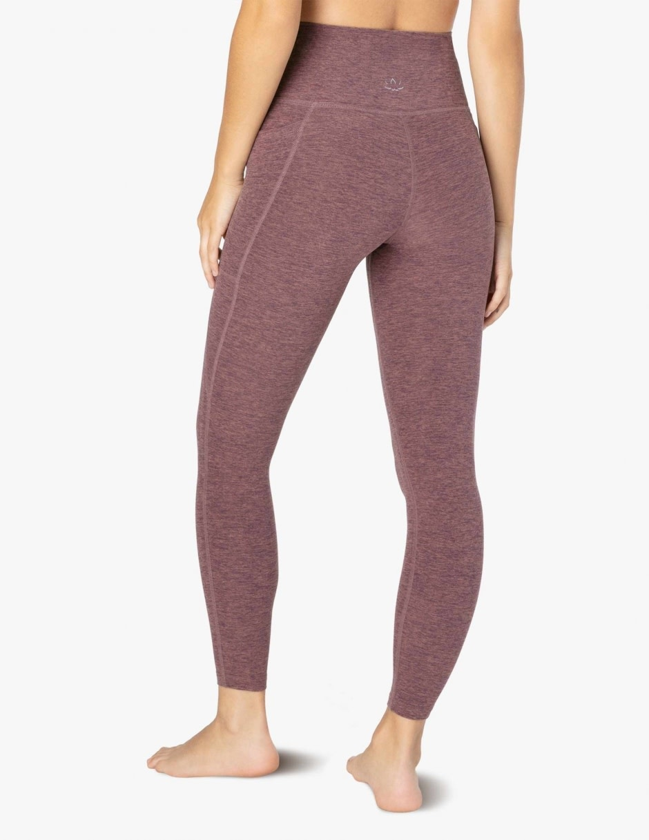 Beyond Yoga Beyond Yoga Spacedye Everyday Legging Deep Blush-Wild Orchid