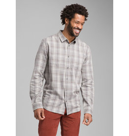 prAna Holton Long Sleeve Shirt Silver Spray