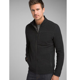 prAna Riddle Full Zip Pullover Black