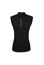 Sofibella Sofibella Sleeveless Polo Black