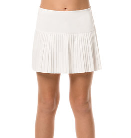 Lucky In Love Lucky In Love Pleated Skirt White