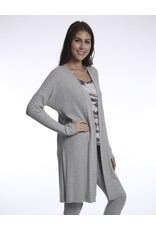 River & Sky Ribbed Duster Frost