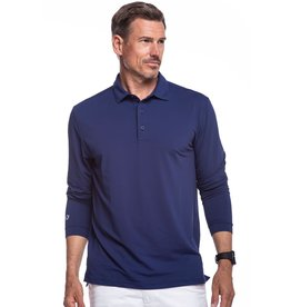 IBKul Solid LS Polo Ink