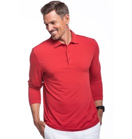 IBKul Solid LS Polo Red