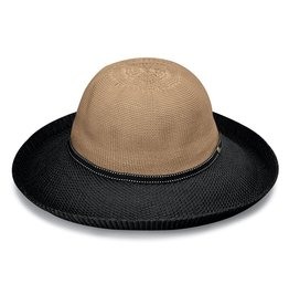Wallaroo Victoria Two-Toned Hat Camel/Black