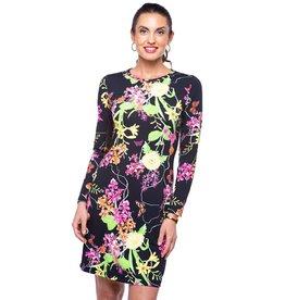 IBKul Willow LS Dress Black