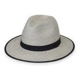 Wallaroo Charlie Hat Ivory/Black