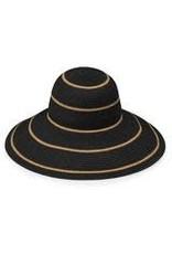 Wallaroo Savannah Hat Black/Camel