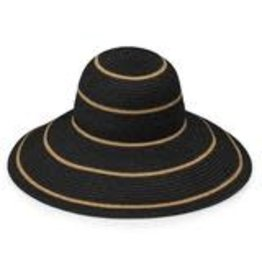 Wallaroo Savannah Hat Black/Camel