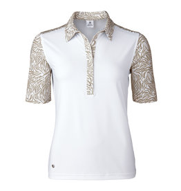 Daily Sports Daphie 1/2 Sleeve Polo White