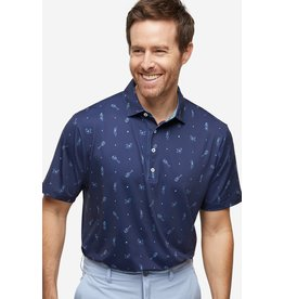Devereux Luau Polo Navy