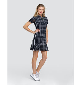 Tail Emma SS Dress Windowpane Plaid