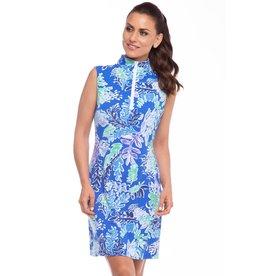 IBKul IBKul Nessa SL Mock Dress Royal