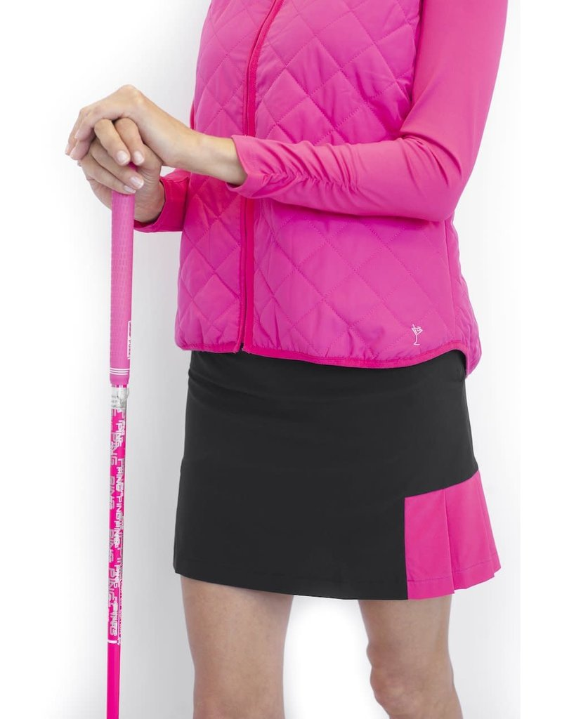 Golftini Life Saver Performance Pleat Skort 18""
