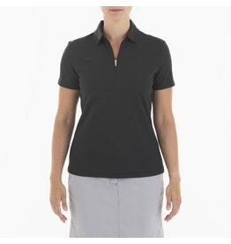 Nivo Sport Nila Short Sleeve Polo Black